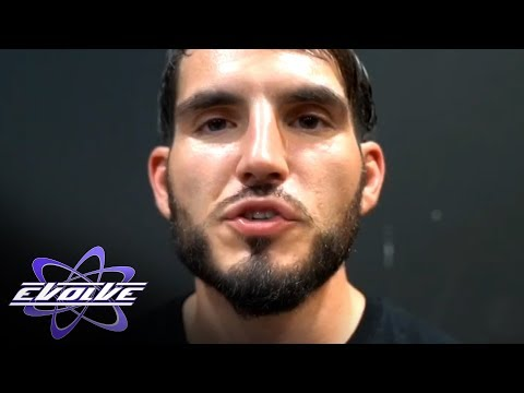 Johnny Gargano just couldn't resist getting involved in the EVOLVE main event