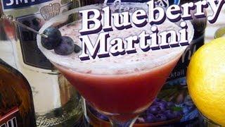 How To Make A Blueberry Martini - Thefndc.com