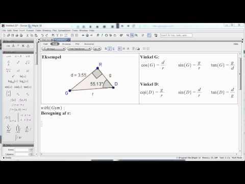 Pythagoras lærersætning hypotenusen from YouTube · Duration:  3 minutes 57 seconds