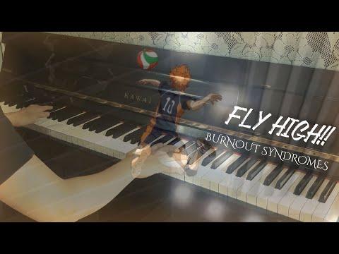 Fly High!! - BURNOUT SYNDROMES (Haikyuu!! Season 2 OP 2)   Piano Cover
