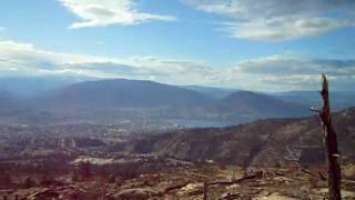Amazing Landscape Delivering For Ups In Penticton B.-c. Okanagan Valley Canada