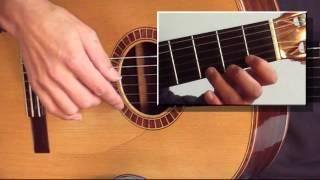 Gitaarles - Zie Ginds Komt De Stoomboot - Sinterklaas muziek melodie op de gitaar