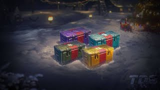 World of Tanks - HOLIDAY OPS 2020 75 CHRISTMAS BOXES OPENING (unedited)