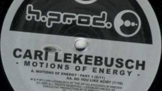 Cari Lekebusch - Motions of Energy