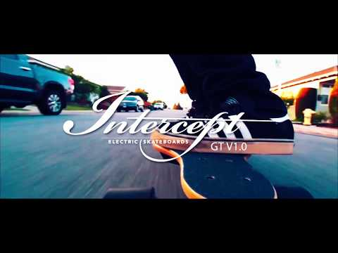 Intercept GT Electric Skateboard - SALE Save $300+FREE SHIPPING YOUTUBE AD