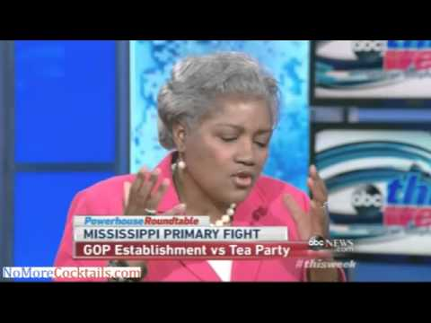 """Lib Donna Brazille: Thad Cochran won because went after votes in """"high producing black colonies"""""""