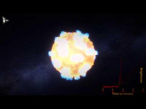 L'explosion d'une étoile observée pour la première fois par la Nasa