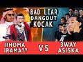 Kocak! Battle lagu2 viral!! X RAJA DANGDUT Part 2 | 3way Asiska Cover
