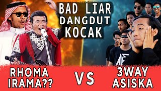 Download Kocak! Battle lagu2 viral!! X RAJA DANGDUT Part 2 | 3way Asiska Cover