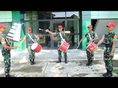 "Genderang Suling Cankalokananta Akademi militer tingkerbellan/tengerbellan lagu ""SYALALA"""
