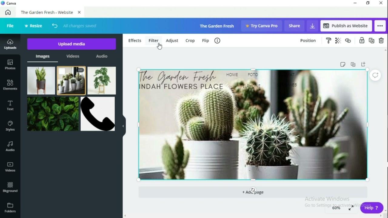 Cara Membuat Tampilan Website Menggunakan CANVA (Desain Web)
