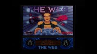 Gameplay Ps1 - Pro pinball the web PAL (1996)