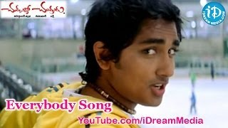 Chukkallo Chandrudu Movie Songs - Everybody Song - Siddharth - Charmi - Sada - Saloni