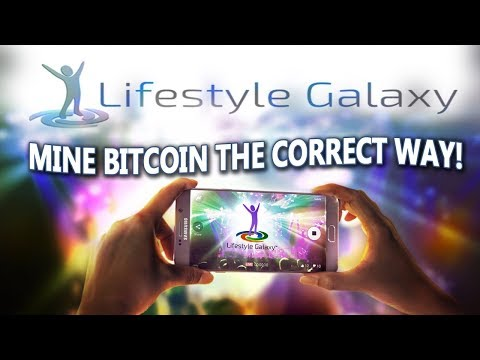 Lifestyle Galaxy Mining – How You Easily Mine Bitcoin The Correct Way! (Dragon Mine)