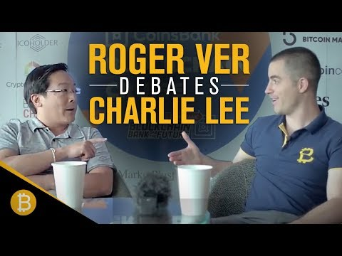 Roger Ver Debates Charlie Lee (FULL DEBATE) -  What is Bitcoin?
