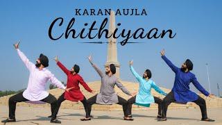 CHITHIYAAN - Karan Aujla | Bhangra Cover | Folking Desi |