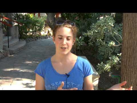 Tabitha Taennler über ihren Besuch in Israel - Juli, 2013