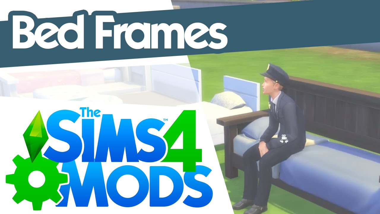 Sims 4 Dylan Sofa Beds The Sims 4 Mods Bed Frames