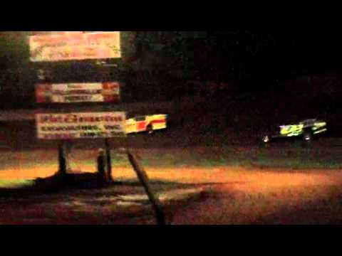 lake cumberland speedway 9-24-11 open wheel feature part 2