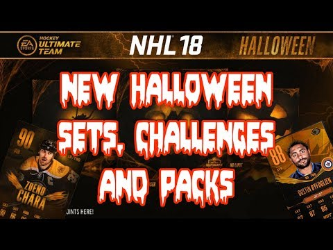 SHE PULLED A LEGEND?! - NEW Halloween Sets, Challenges And PACKS - NHL 18