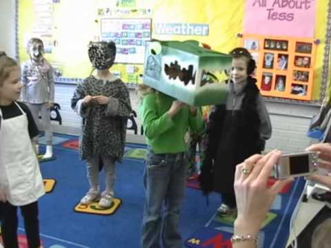 """Loudoun Country Day School 2009 - """" Head To Toe """" by Eric Carle"""