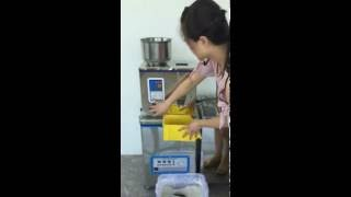 table top semi automated net weight filling machine for powder granule weigh filler equipment