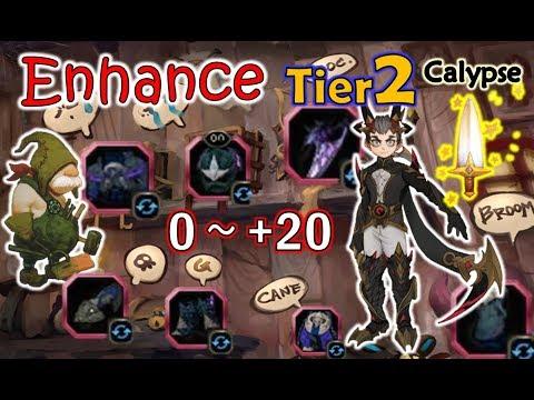 "[Enhance] ""0~+20"" Tier 2 Calypse whole set - SpeedColie -【Dragon Nest SEA】"