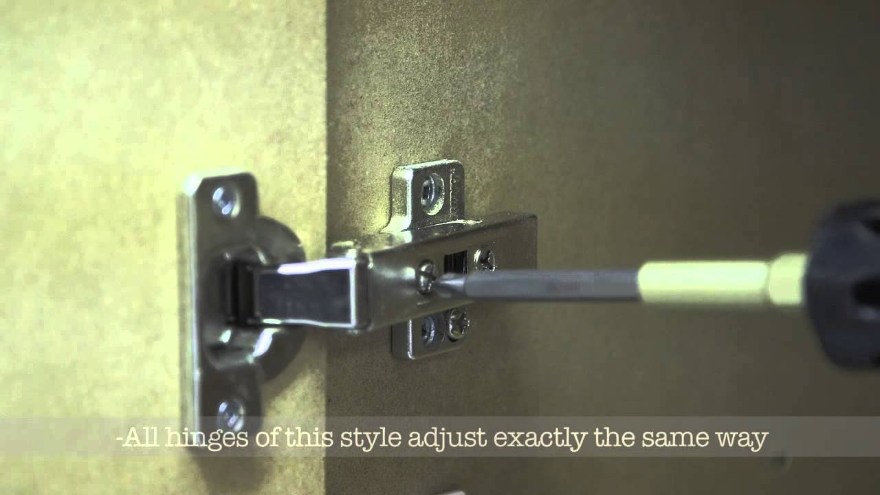 How To Adjust Your Cabinet Doors In Less Than 5 Minutes