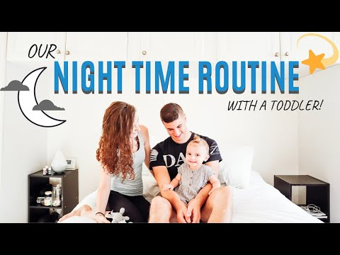 OUR NIGHT TIME ROUTINE WITH A TODDLER | *MILITARY FAMILY OVERSEAS*