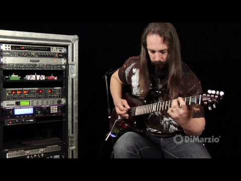 In the studio with John Petrucci
