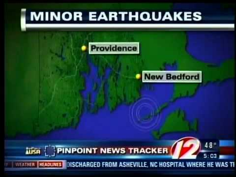 New bedford earthquake