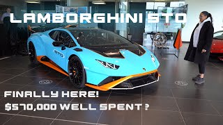 OUR BRAND NEW LAMBORGHINI HURACAN STO IS FINALLY HERE!