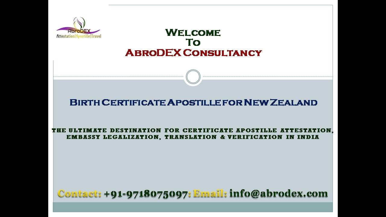New zealand birth certificate sample images certificate design birth certificate apostille for new zealand youtube birth certificate apostille for new zealand yadclub images aiddatafo Choice Image