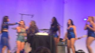 Fifth Harmony bringing cake to Bea Miller