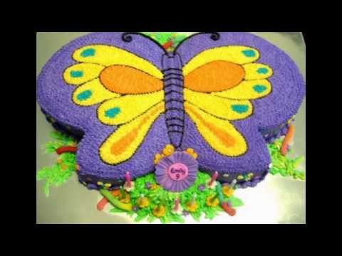 Butterfly Birthday Cake YouTube