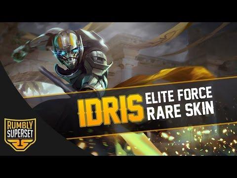 Vainglory Skins Gameplay - [Rare] Elite Force Idris |WP| Jungle Gameplay [Update 2.3]