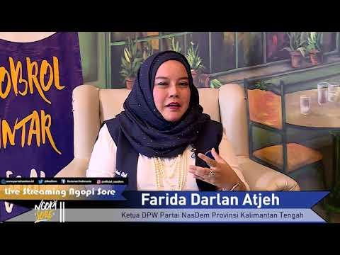 Farida Berpartai dengan Gembira