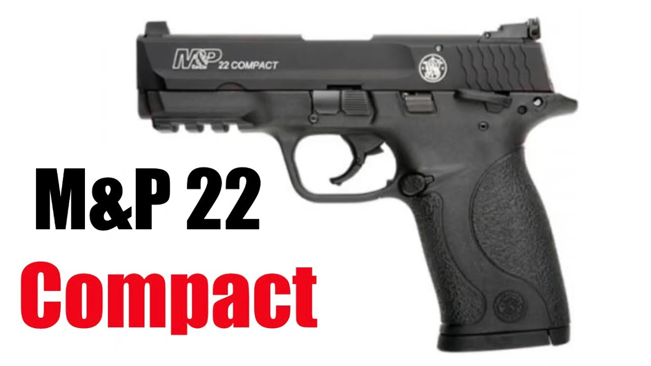 Smith and Wesson M&P 22 compact a cold day review-sh