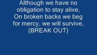 Repeat youtube video Rise Against - Behind Closed Doors (with lyrics)
