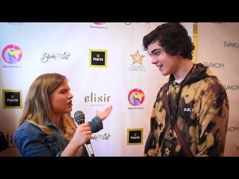 Alex Stewart Interview at Celebrity Connected Gifting Suite Honoring the Academy Awards