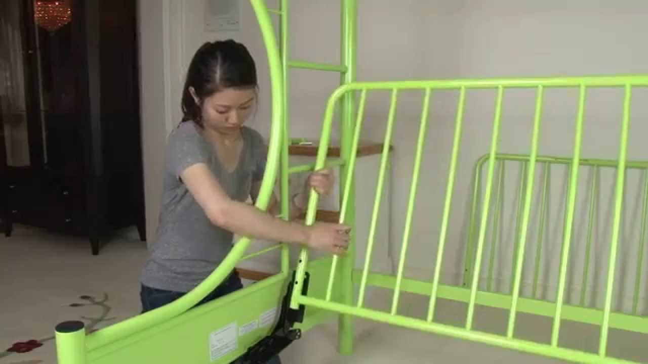 Twin Futon Bunk Bed Assembly Youtube