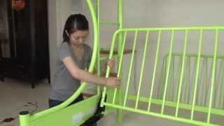 Twin/futon Bunk Bed Assembly