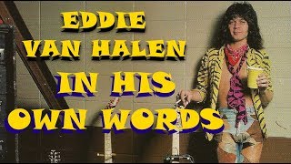 eddie van halen in his own words