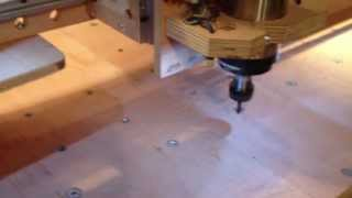 Homemade Diy Cnc Router With Linux Making Rapid Drilling For Table My Cnc.