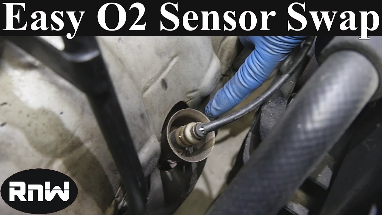 how to replace an oxygen  o2  sensor  and bank 1 bank 2