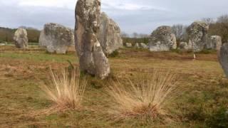 Carnac menhirs et dolmens
