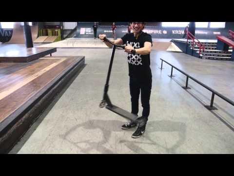 Comment Faire Un Tailwhip En Trottinette Freestyle | Tutoriel WIXX
