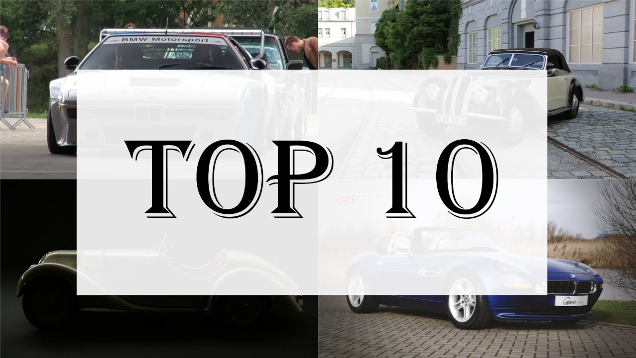 TOP 10 Most Expensive BMW cars  YouTube