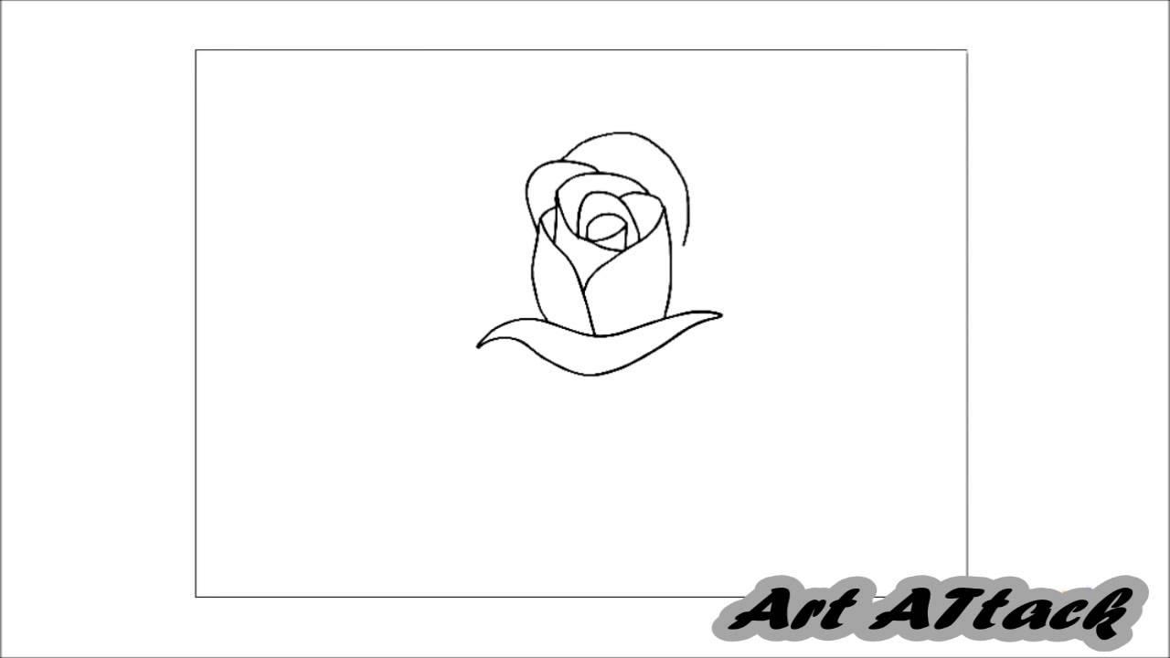 Cum Sa Desenezi Un Trandafir