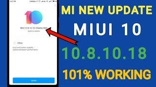 MI 10 New Feature Video | MI MIUI10.8.10.18 | MI new update 10 | HOW TO MIUI 10